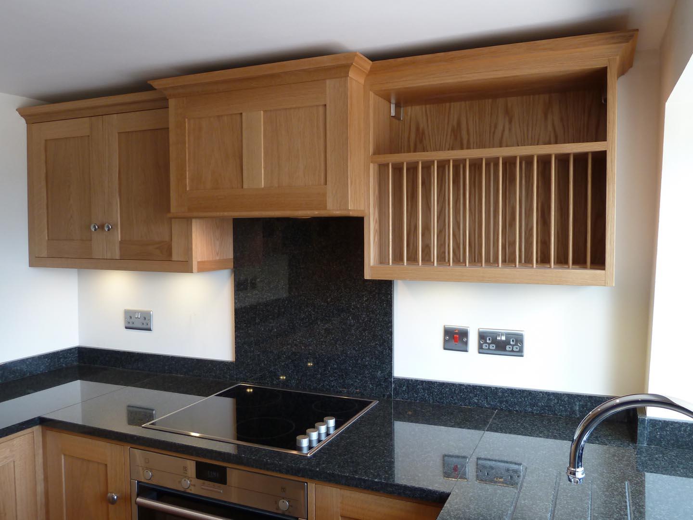 Compact Bespoke Shaker kitchen