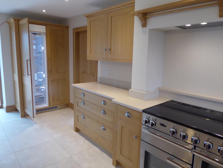 Spacious Family Kitchen in Quarter-Sawn Oak